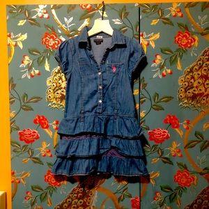 US.POLO GIRLS DRESS